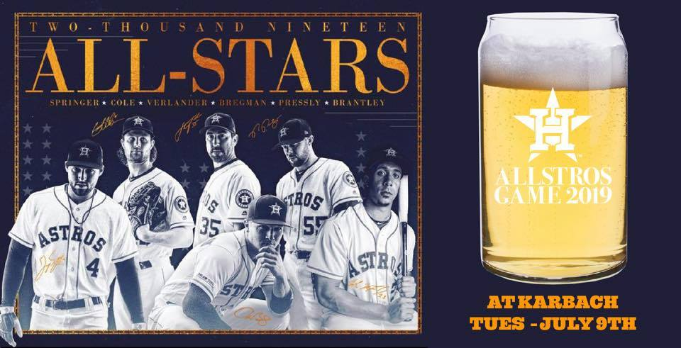 Allstros Watch Party At Karbach Karbach Brewing Co